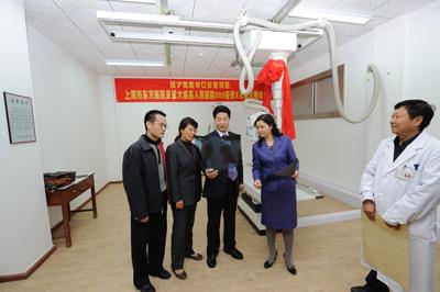 医院的医疗水平,赢得了全县人民的赞誉.这是上海东方医院真高清图片